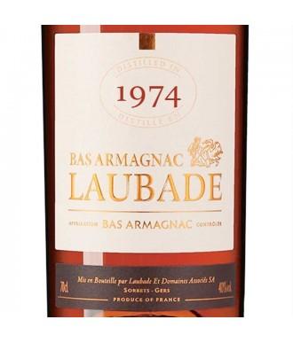 LAUBADE ARMAGNAC VINTAGE 1974