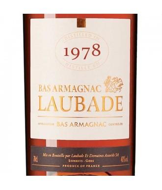 LAUBADE ARMAGNAC VINTAGE 1978
