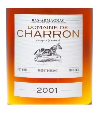 CHARRON ARMAGNAC VINTAGE 2001