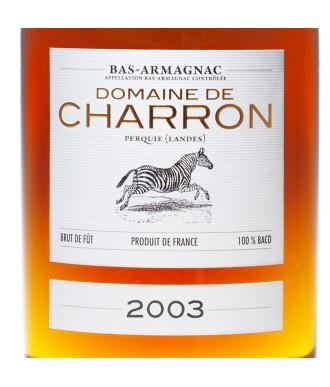 CHARRON ARMAGNAC VINTAGE 2003
