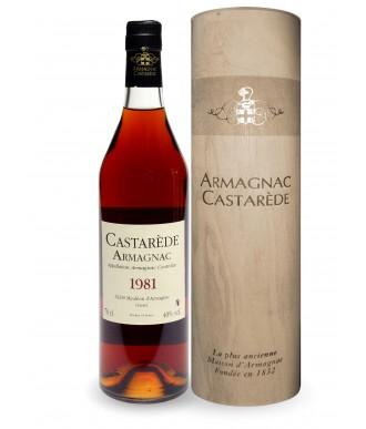 Castarède Armagnac Millésimé 1981