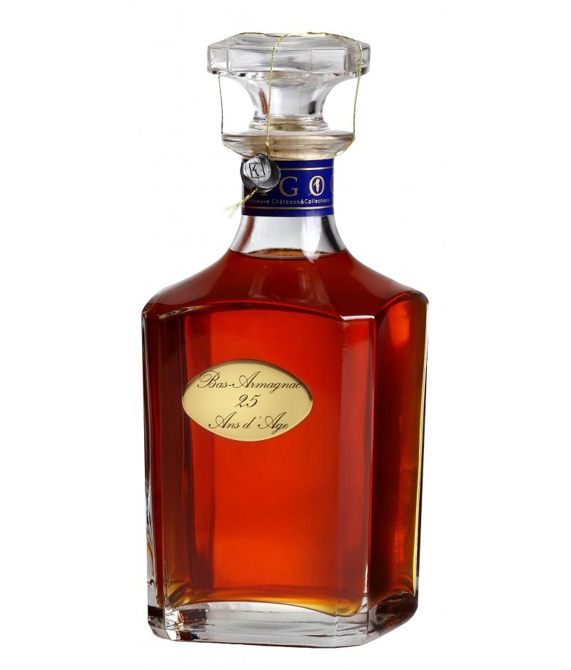 Baron De Sigognac Armagnac Carafe 25 Ans