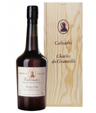 CHARLES DE GRANVILLE CALVADOS 25 YEARS