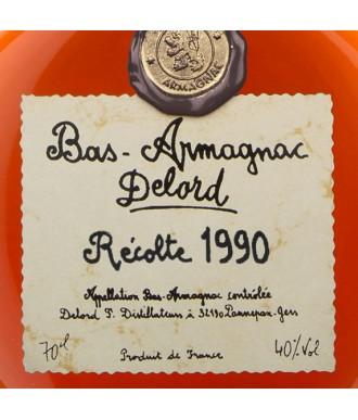 Delord Armagnac Millésime 1990