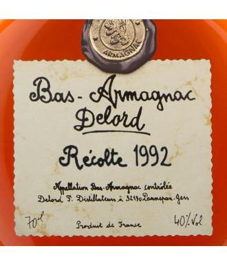 DELORD ARMAGNAC VINTAGE 1992