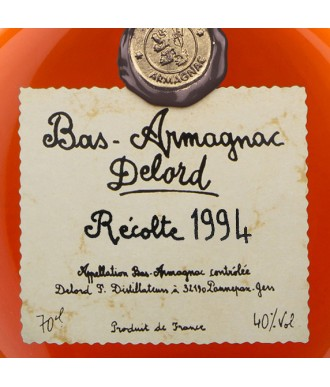 Delord Armagnac Millésime 1994