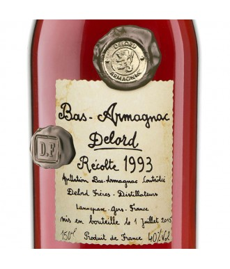 Delord Armagnac Millésime 1993 Magnum