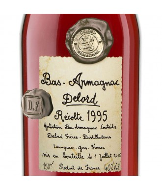 Delord Armagnac Millésime 1995 Magnum