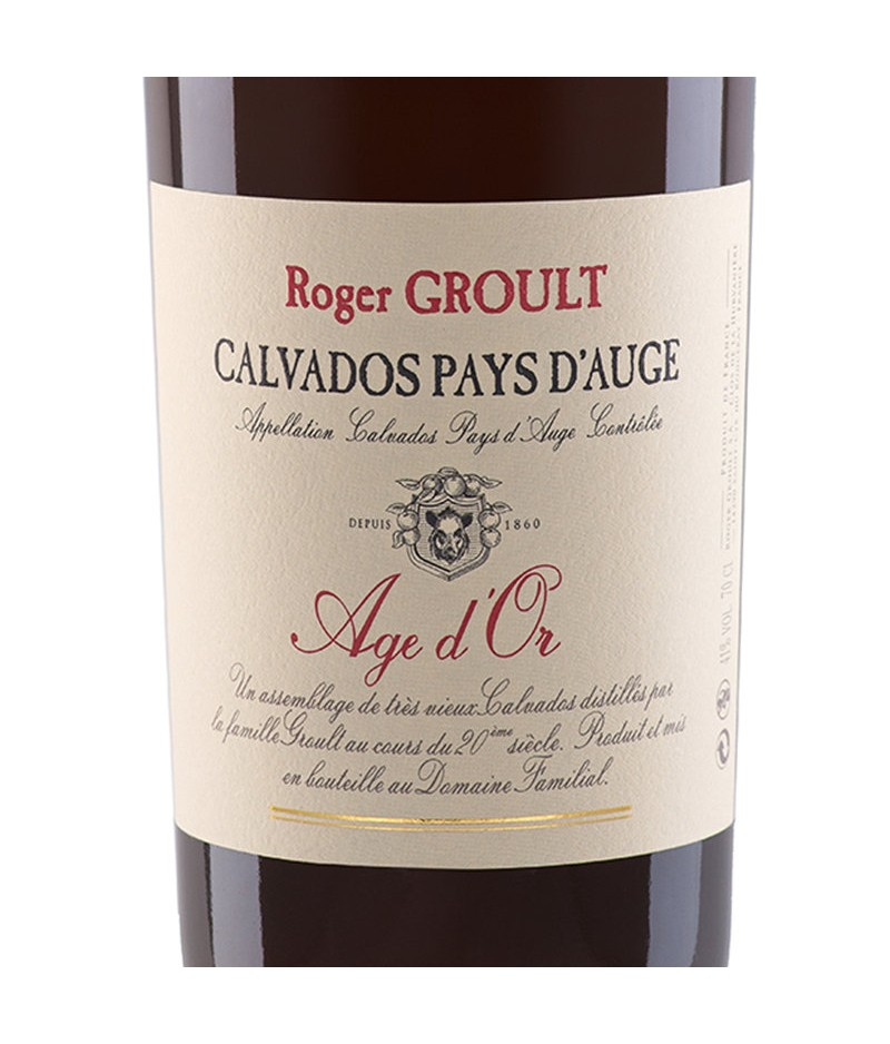 CALVADOS GROULT AGE D'OR 70CL