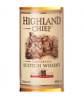 WHISKY HIGHLAND CHIEF - BLENDED