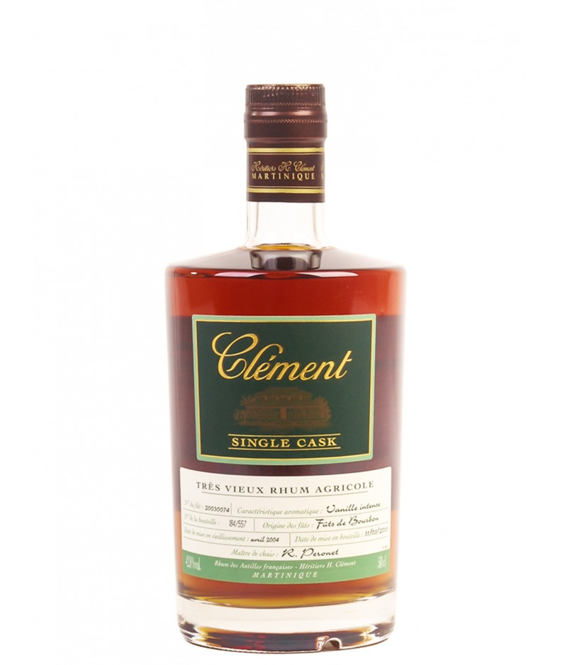RHUM CLEMENT VANILLE INTENSE 50 cl