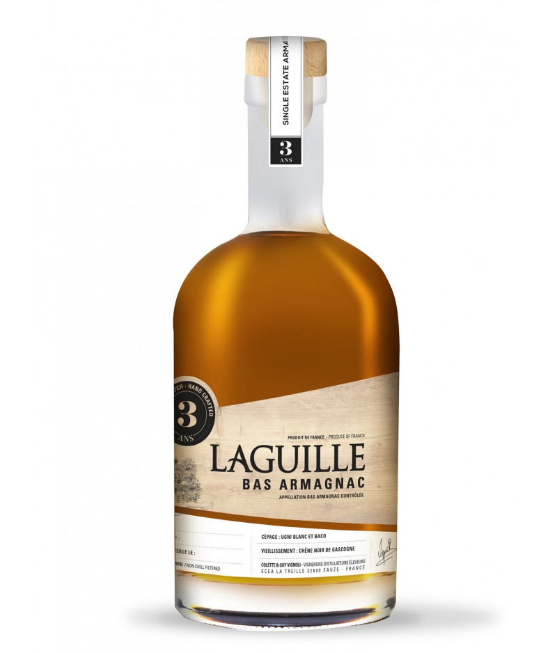 LAGUILLE ARMAGNAC 3 YEARS 50 cl