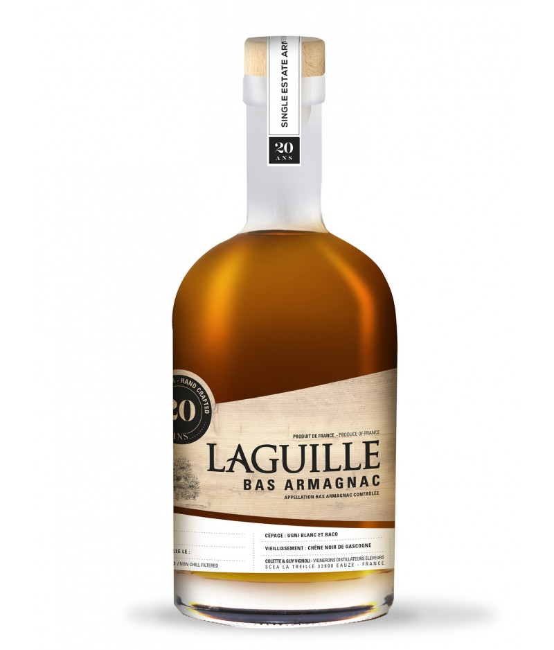 LAGUILLE ARMAGNAC 20 YEARS 50 cl