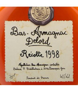 DELORD ARMAGNAC VINTAGE 1998