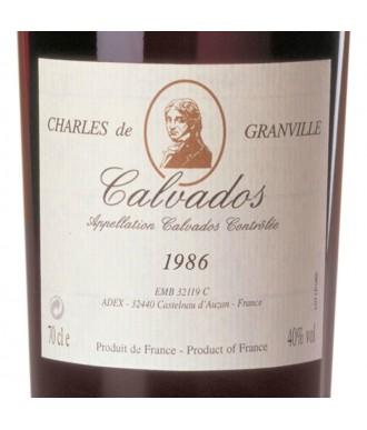 CHARLES DE GRANVILLE CALVADOS 1986