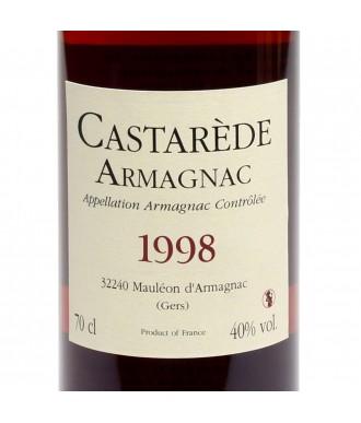CASTARÈDE ARMAGNAC VINTAGE 1998