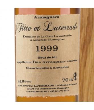 Fitte Et Laterrade Armagnac Millésime 1999