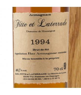 Fitte Et Laterrade Armagnac Millésime 1994
