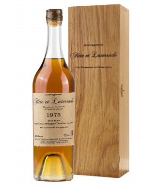 Fitte Et Laterrade Armagnac Millésime 1975