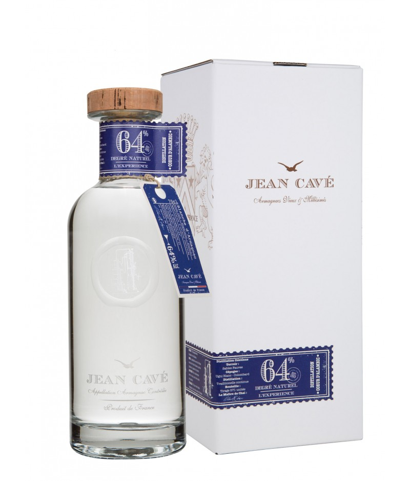 JEAN CAVÉ WHITEHE D'ARMAGNAC EXPERIENCE 64°