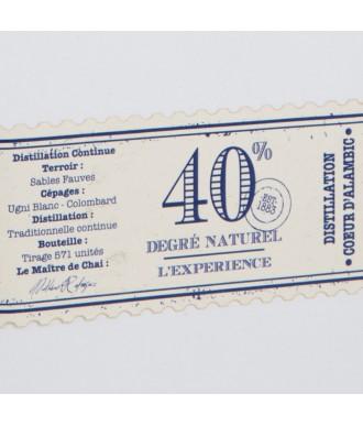 JEAN CAVÉ WHITEHE D'ARMAGNAC EXPERIENCE 40°