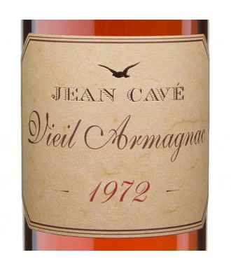 Jean Cavé Bas-Armagnac Millésimé 1972