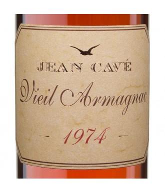 Jean Cavé Bas-Armagnac Millésimé 1974