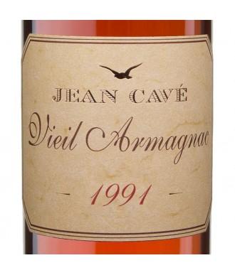 Jean Cavé Bas-Armagnac Millésimé 1991