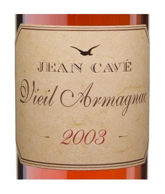 Jean Cavé Bas-Armagnac Millésimé 2003
