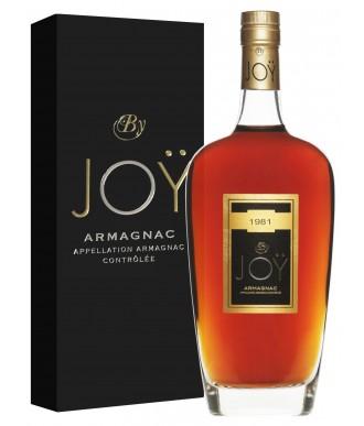 Joy Armagnac Millésime 1981