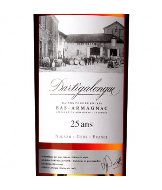 DARTIGALONGUE ARMAGNAC 25 YEARS