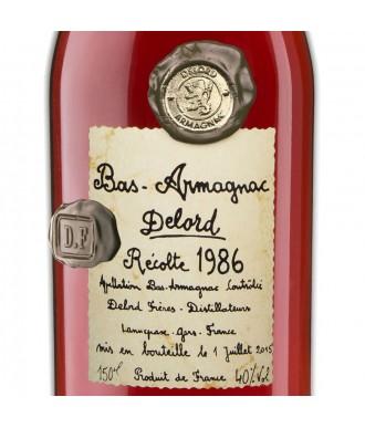 Delord Armagnac Millésime 1986 Magnum