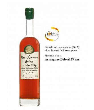 Delord Armagnac 25 Ans D'Âge