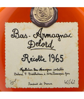 Delord Armagnac Millésime 1965