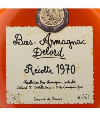 Delord Armagnac Millésime 1970