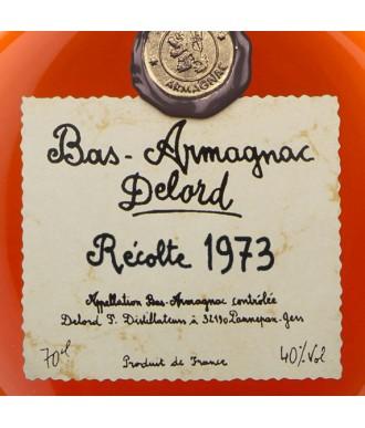 DELORD ARMAGNAC VINTAGE 1973