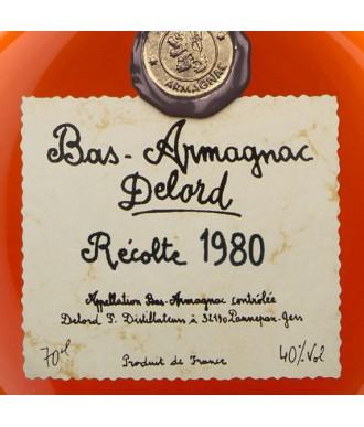 Delord Armagnac Millésime 1980