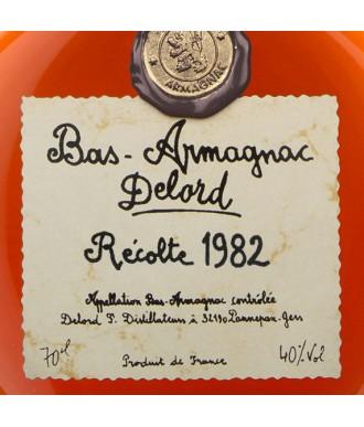 DELORD ARMAGNAC VINTAGE 1982
