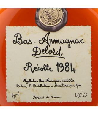 Delord Armagnac Millésime 1984